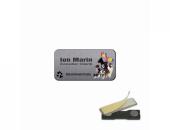 Ecuson Printat, material acrilic - sistem prindere magnet