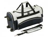 GALVESTON travel bag on wheels,  grey